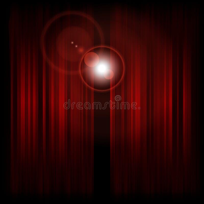 Backstage with spotlight. Vector illustration (eps10 royalty free illustration