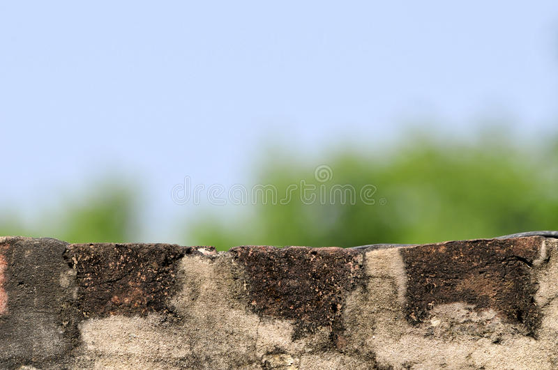 Backsteinmauer stockfotografie