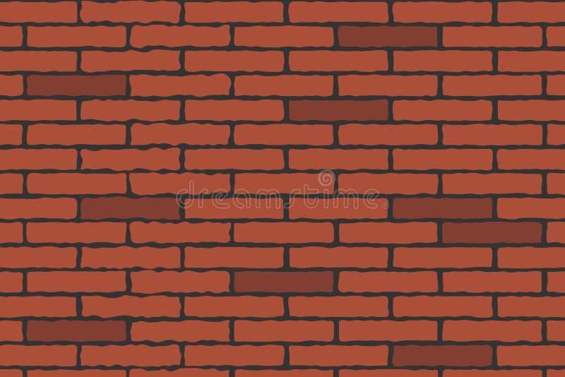 Backsteinmauer lizenzfreie abbildung