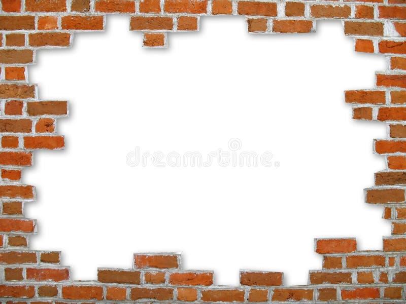 Backsteinmauer   stockfotografie
