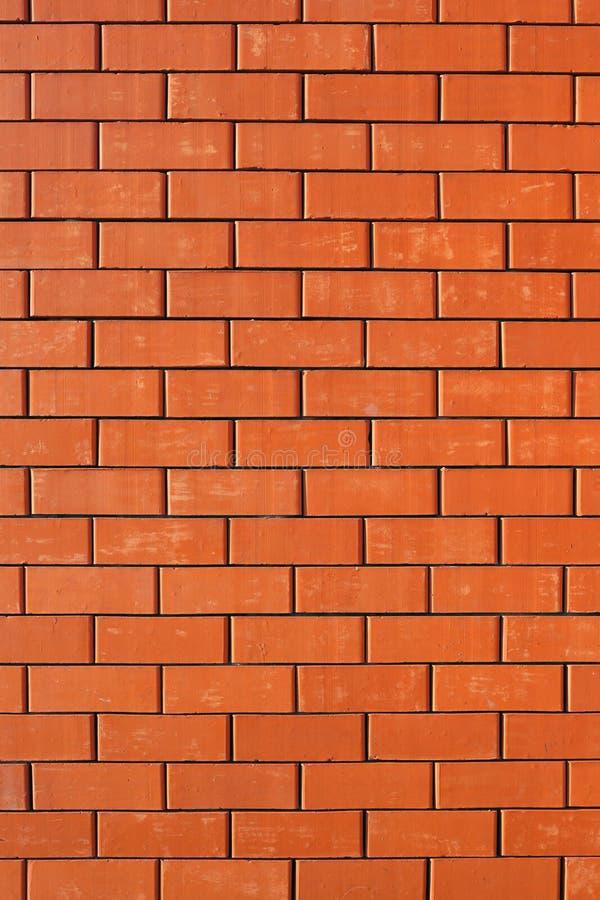 Backsteinmauer des Hauses stockbild