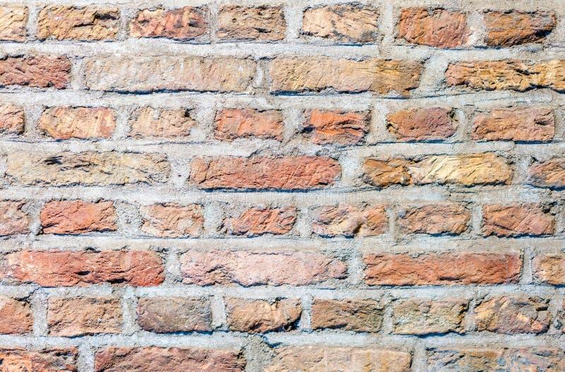 Backsteinmauer, Tapetenmuster, Hintergrundbeschaffenheit lizenzfreie stockfotos
