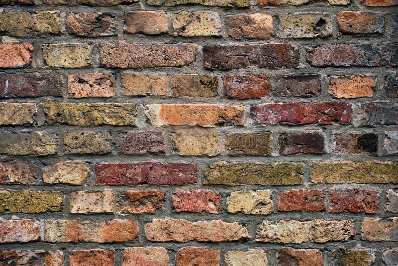 Backsteinmauerbeschaffenheit Hintergrund lizenzfreie stockbilder
