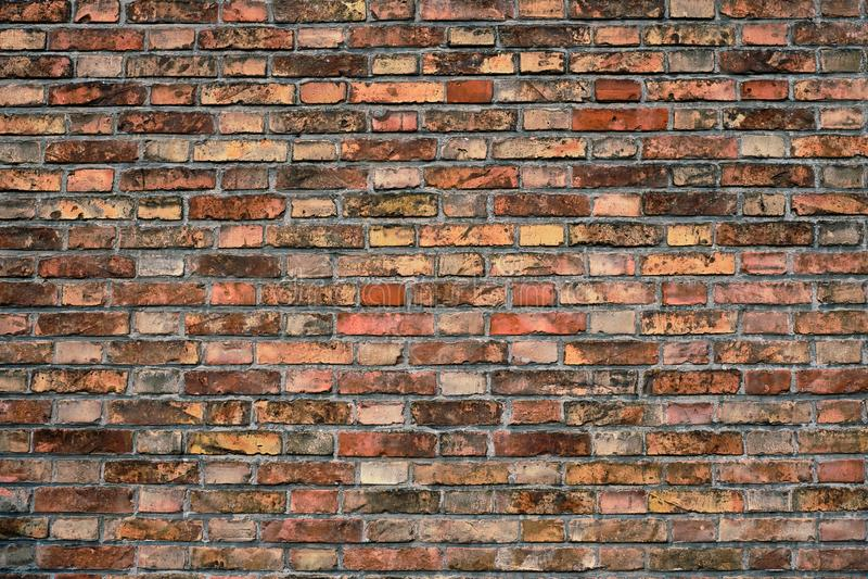 Backsteinmauerbeschaffenheit Hintergrund stockbilder
