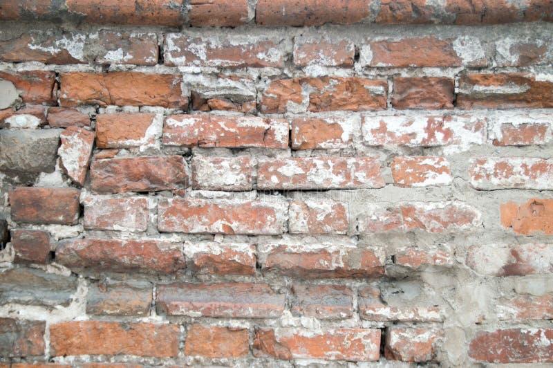 Backsteinmauerbeschaffenheit Hintergrund stockbild