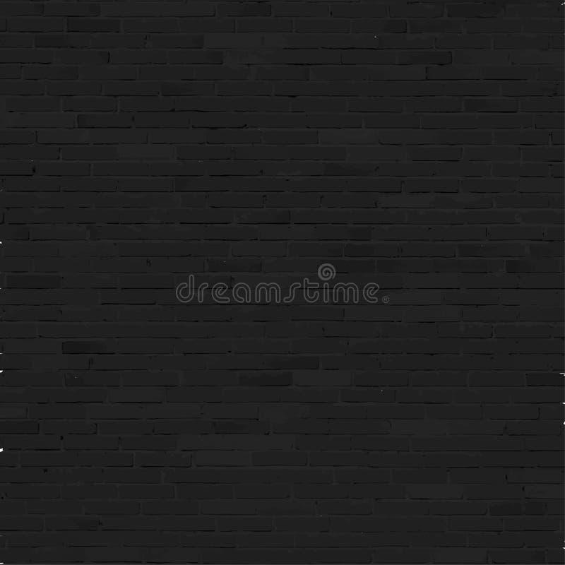 Backsteinmauerhintergrund, schwarze Entlastungsbeschaffenheit mit lizenzfreie abbildung