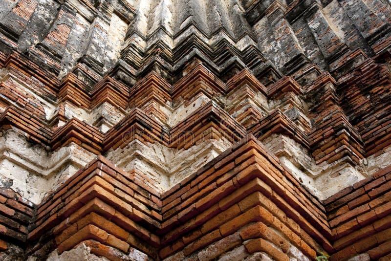 Backsteinmauermuster stockfoto
