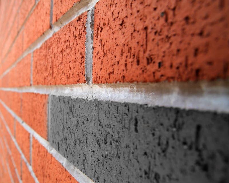 Backsteinmauerperspektivenbild lizenzfreies stockbild