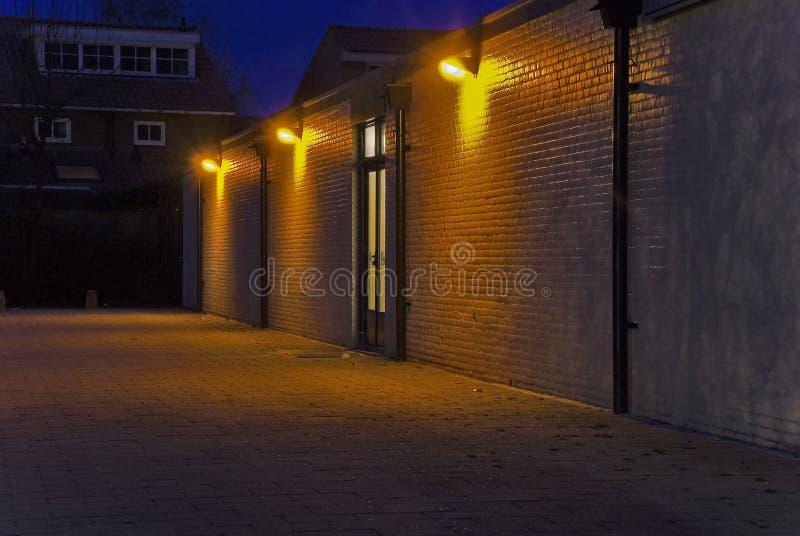 backstreet światła obraz royalty free