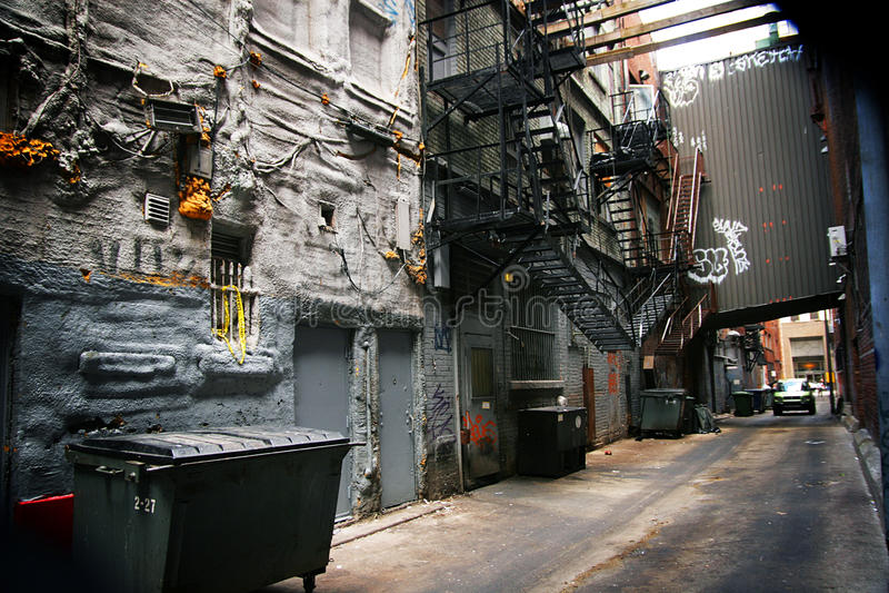 Backstreet immagine stock