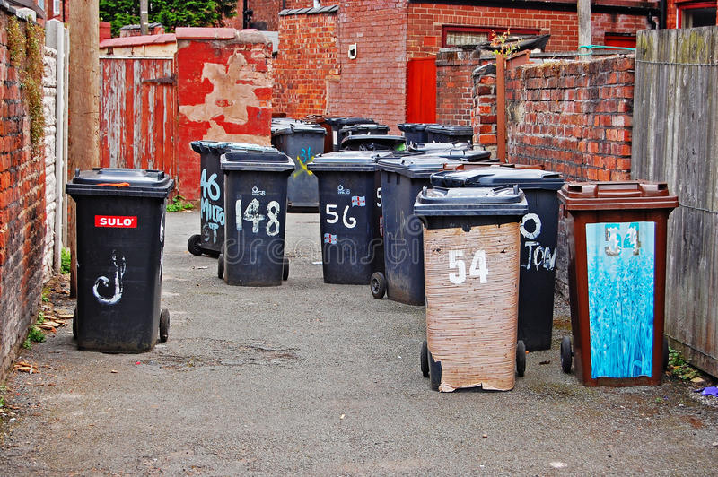 Backstreet Groot-Brittannië stock afbeelding