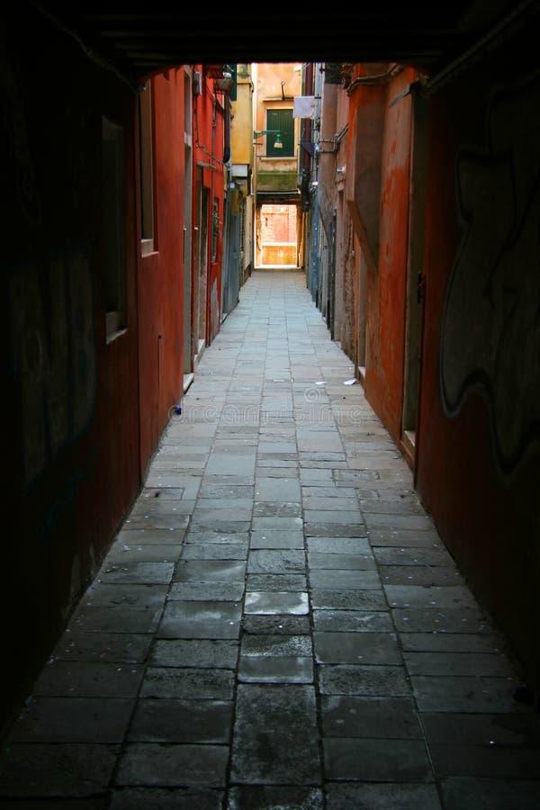 backstreet Venice obrazy royalty free