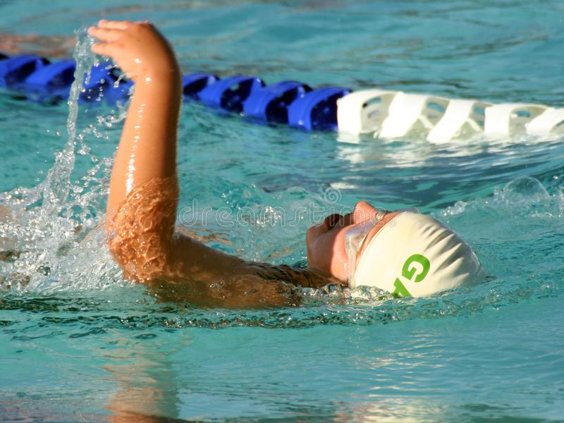 Backstroke Swim