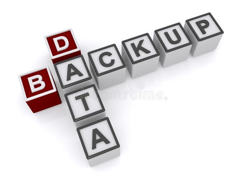 Backup de dados  ilustração do vetor