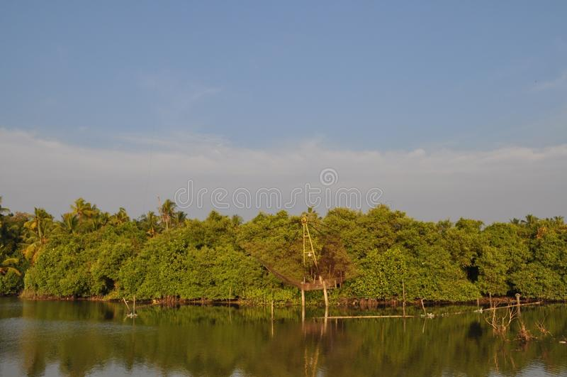 backwaters imagem de stock royalty free