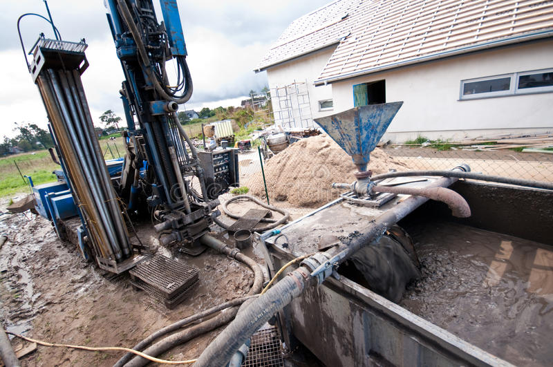 Download Backyard construction stock photo. Image of hole, home - 20970540