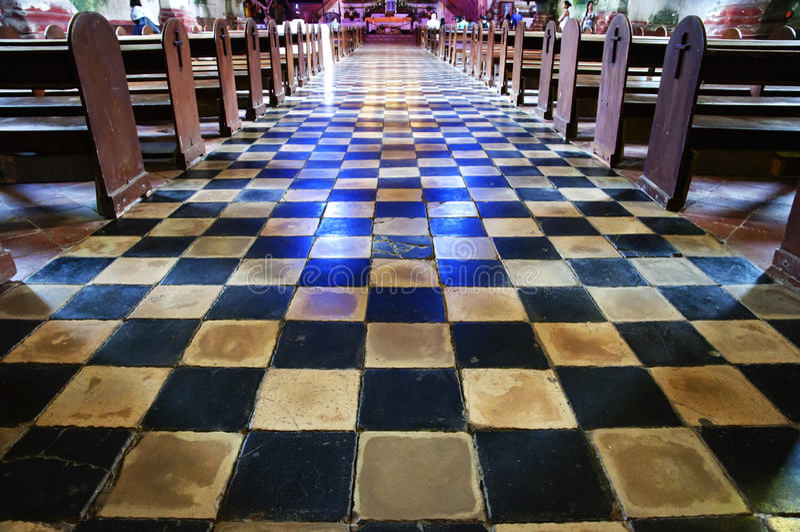 Baclayon-Kirche - Philippinen lizenzfreie stockfotos