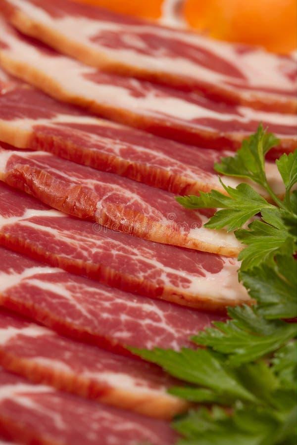 Bacon stock afbeelding