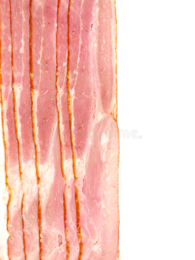 Bacon foto de stock