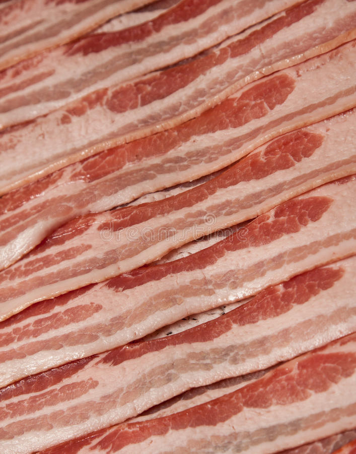 Download Bacon stock photo. Image of bacon, slices, strip, strips - 15105256