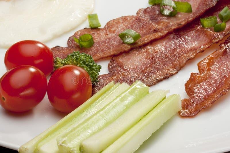bacon royaltyfri bild