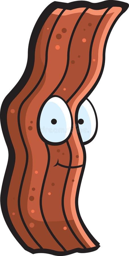 Bacon ilustração stock