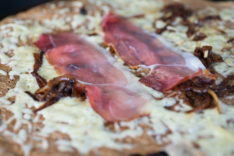 Bacon em crepes fotos de stock royalty free