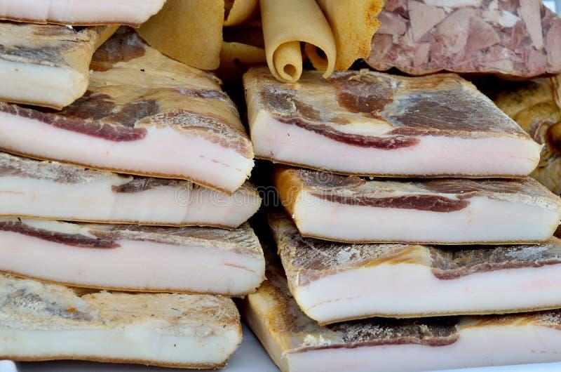 Bacon stock foto