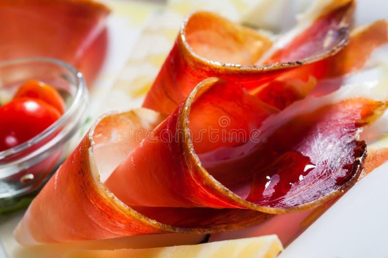 Bacon encaracolado imagem de stock