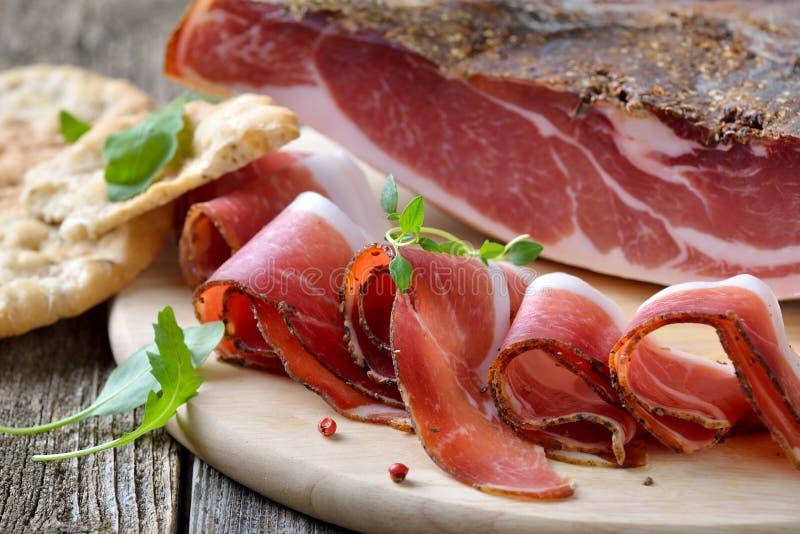 Bacon italiano fotografia de stock royalty free