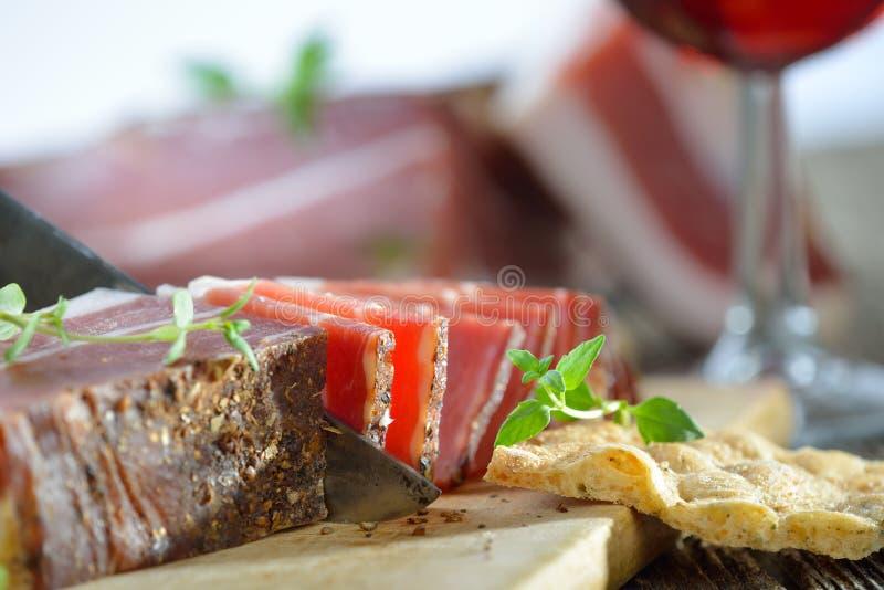Bacon italiano fotografia de stock