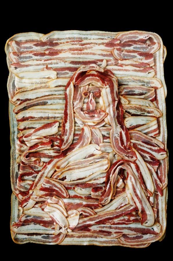 Bacon Lisa royalty-vrije stock foto's