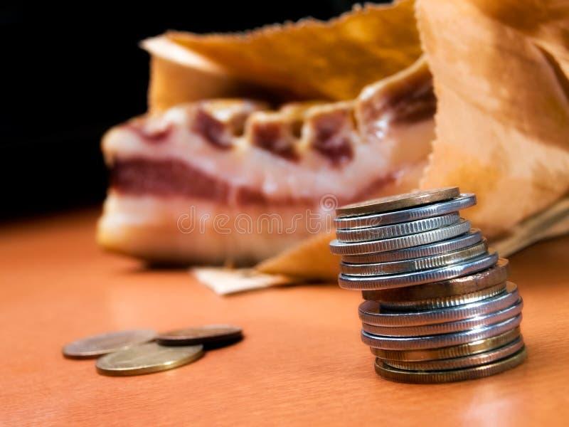 bacon medf8or home royaltyfria bilder