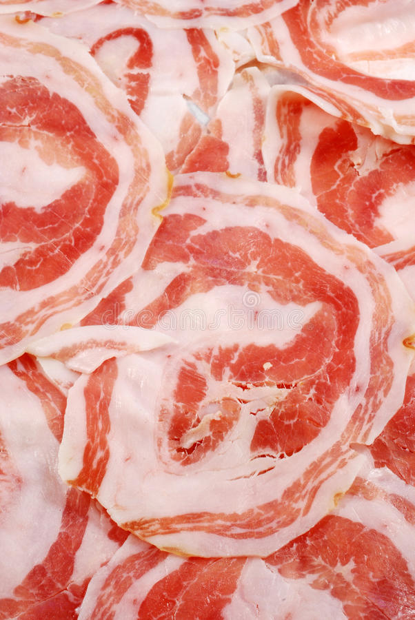 Bacon rolado fotos de stock royalty free