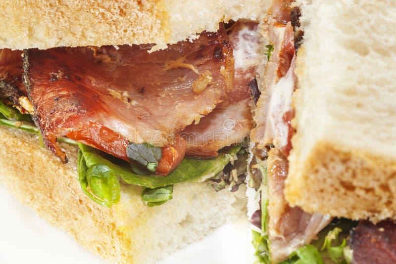 Bacon Sandwich stock image