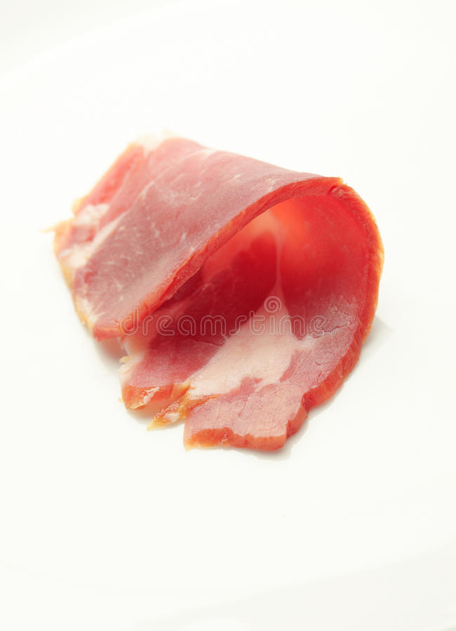Download Bacon Sliced stock image. Image of white, pork, section - 27527341