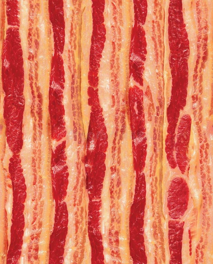 bacon som upprepar seamless remsor arkivbild