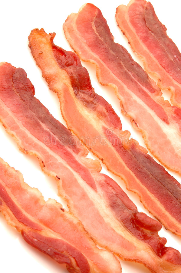 Free Bacon Strips Fried Stock Photo - 325410