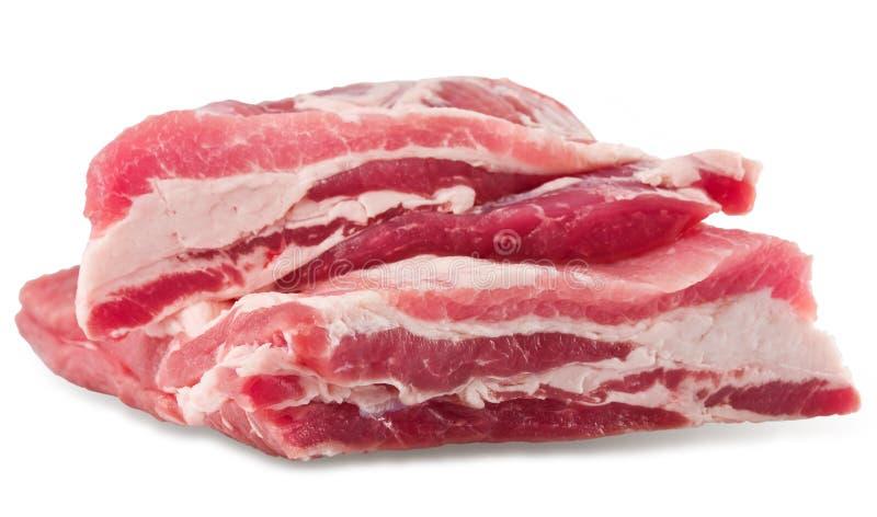 Bacon suculento fotografia de stock