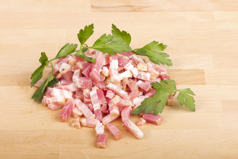 Download Bacon tapes stock image. Image of strips, diced, meat - 28607651