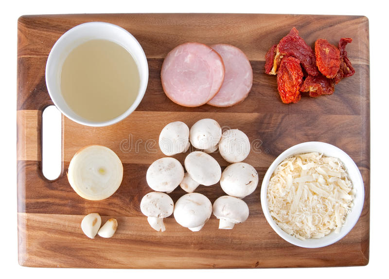 Download Bacon tomato pasta stock image. Image of bacon, seasoning - 13668605