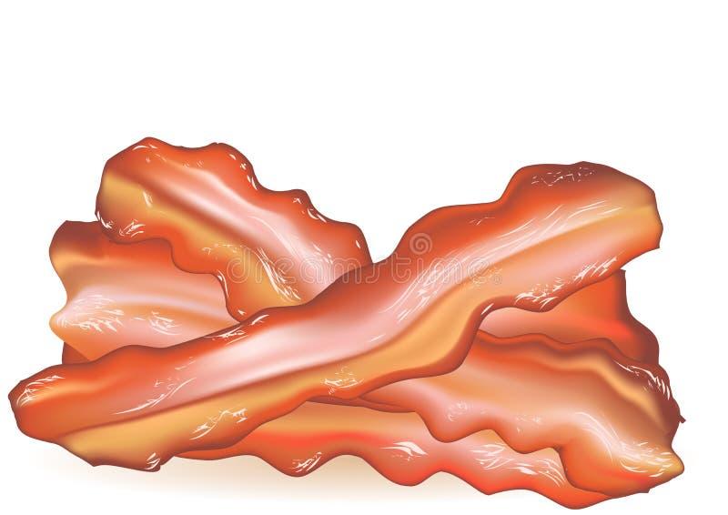 Bacon stock illustration