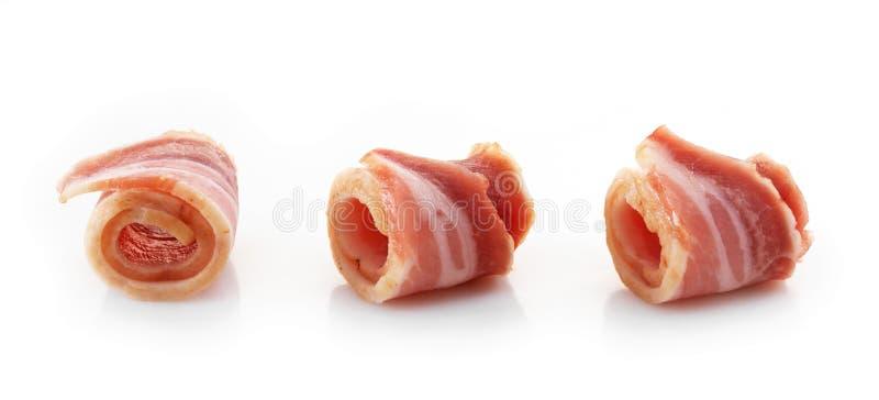 Baconrullar arkivbilder