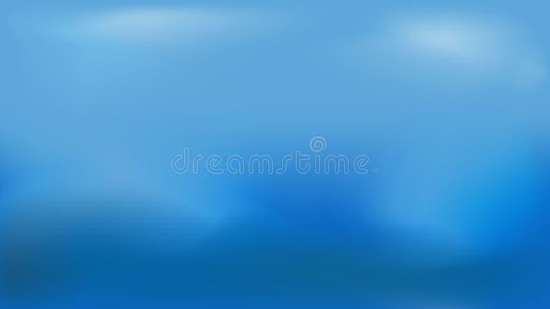 Bacrgraund leggero di colore blu royalty illustrazione gratis