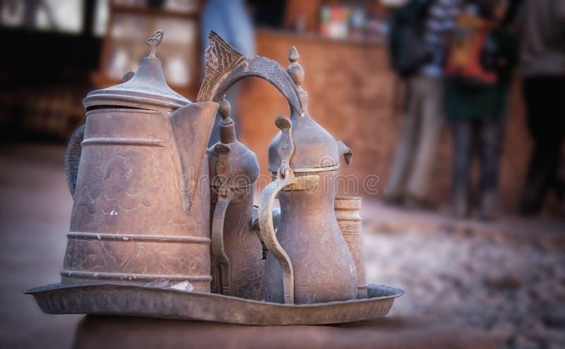 Bacs arabes de café images stock