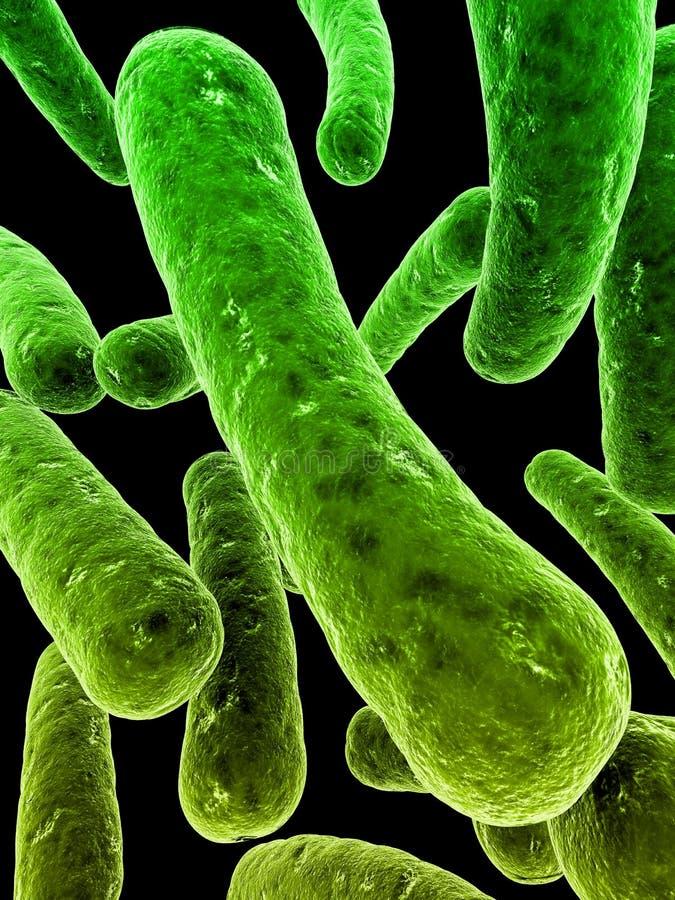 Bacteriën royalty-vrije illustratie