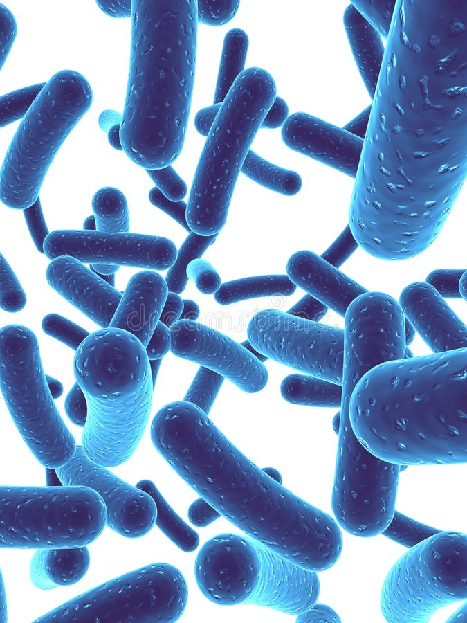 Bacteria royalty free illustration