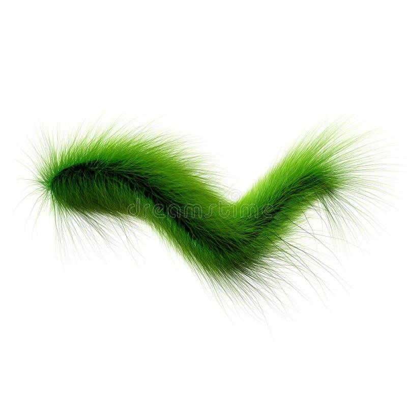 Bacterias verdes stock de ilustración