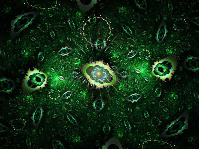 Bacterias verdes libre illustration