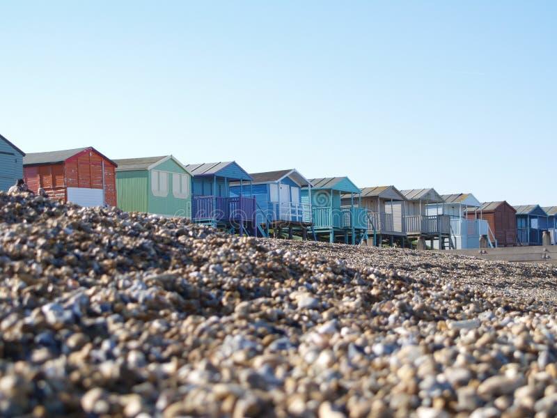 baczność na plaży kamyczek zdjęcie royalty free